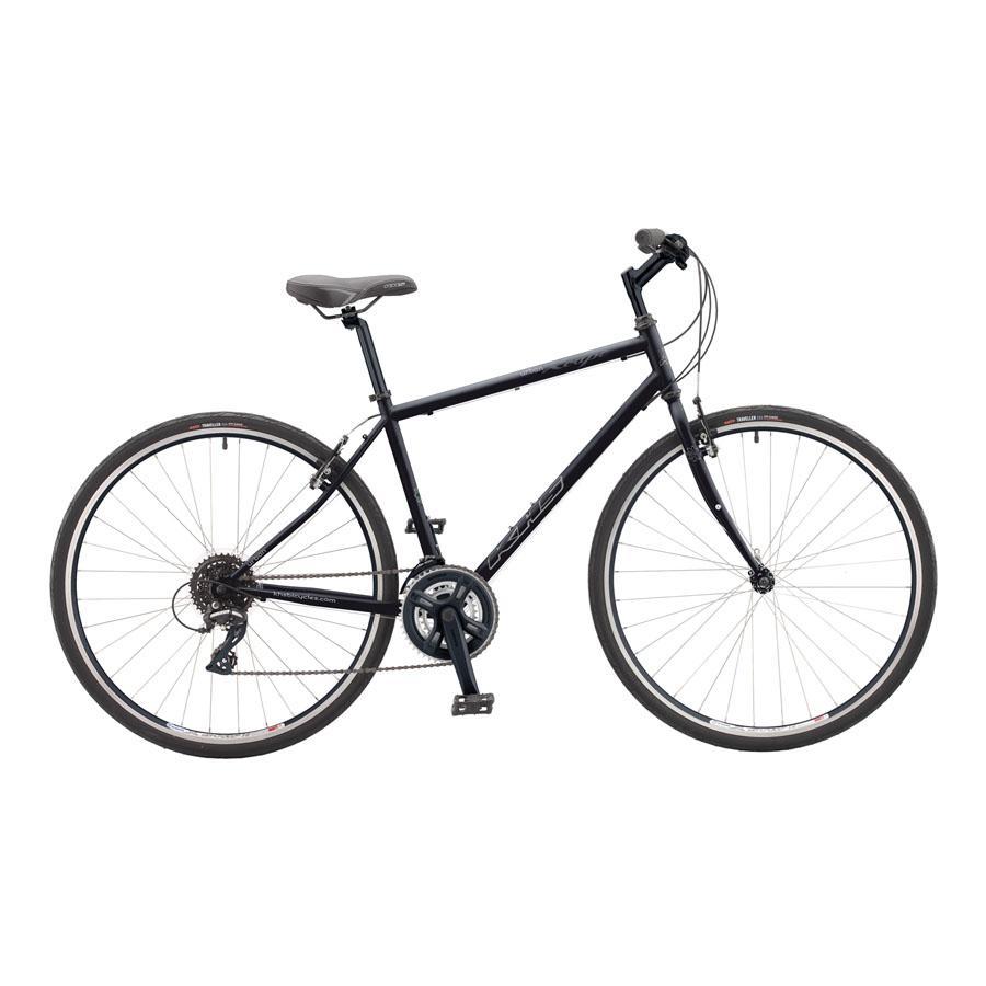 KHS Men's Xcape Urban Bike - BLACK