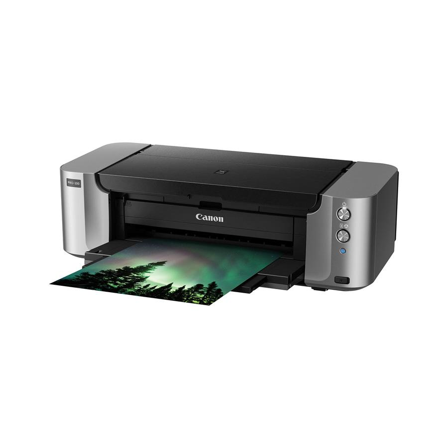 PIXMA PRO-100 Wireless Professional All-in-One Inkjet Photo Printer