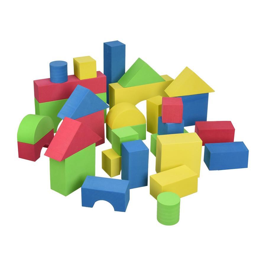 Edu-Colour Blocks - 30 Pieces