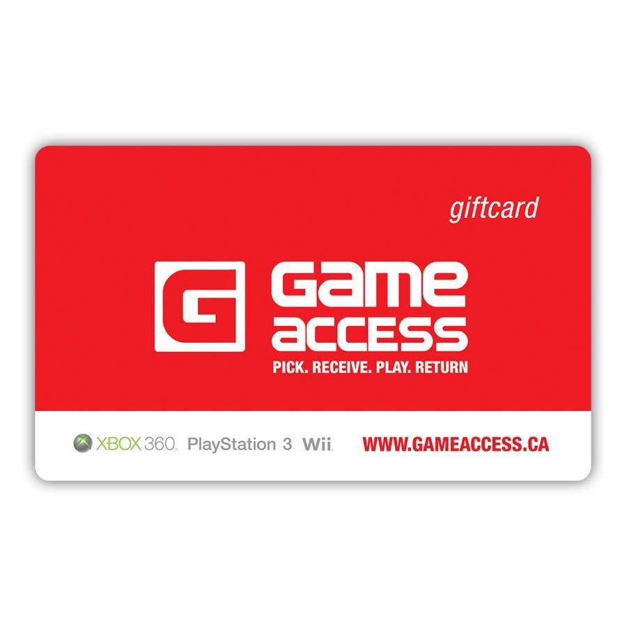 Game Access 6 Months Membership Gift Card