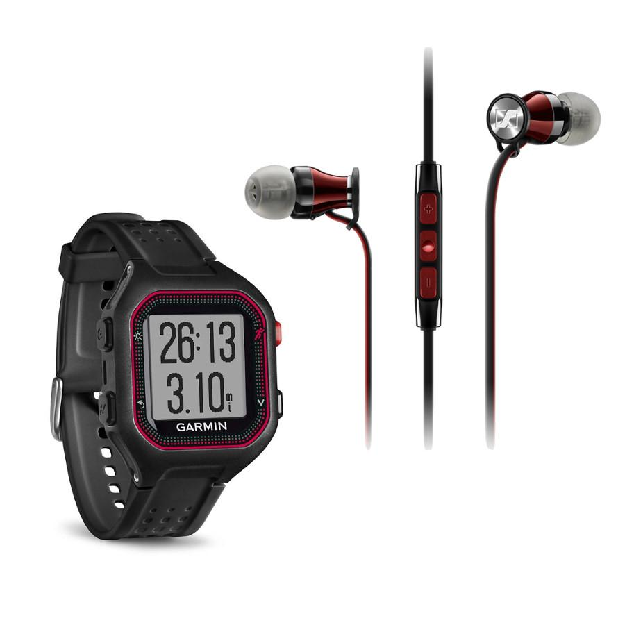 Forerunner 25 GPS Running Watch with Sound Isolating Earbuds