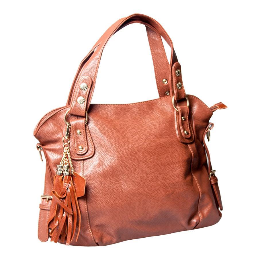 Piacenza Handbag for Women - BROWN