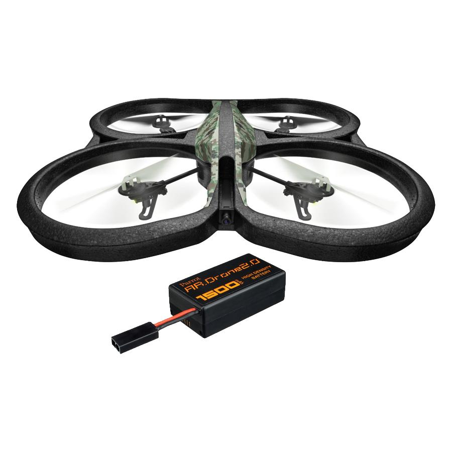 ar drone 2 0 quadricopter with spare battery parrot loyalty source. Black Bedroom Furniture Sets. Home Design Ideas