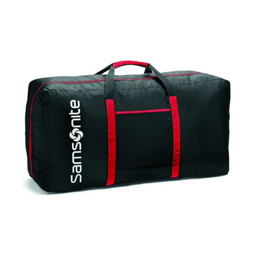 TOTE-A-TON Duffle Bag - Black / Red