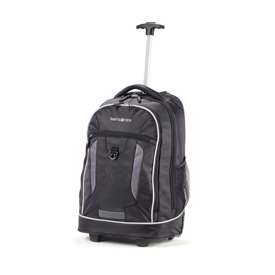 CAMPUS Gear Wheeled Backpack - Black