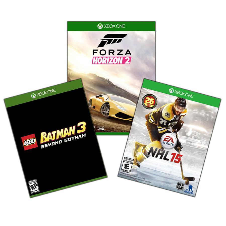 Xbox One Family Game Bundle